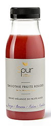 Smoothie fruits rouges